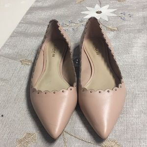 Coach Shoes - Coach flats with gold studs